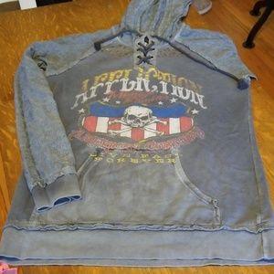 Affliction sweatshirt xl